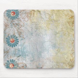 Flower painted Collage Mousepad