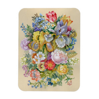 Flower Painting Flexi Magnet