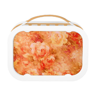 Flower Painting Lunch Box