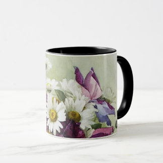 Flower Painting Mother's Day Fine Art Gift Mugs