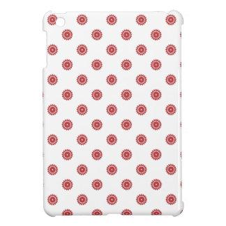 Flower Pattern 4 Aurora Red iPad Mini Case