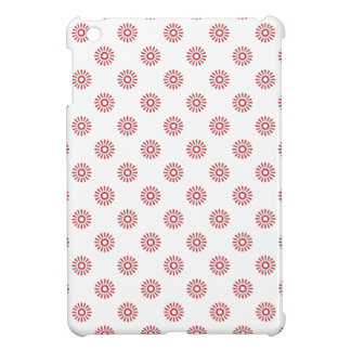 Flower Pattern 6 Aurora Red Cover For The iPad Mini