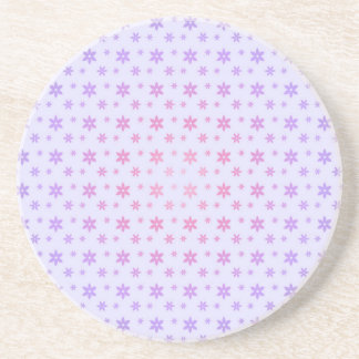 Flower Pattern Drink Coaster