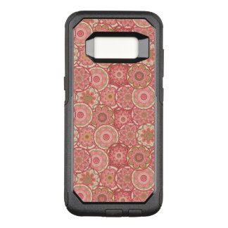 Flower Pattern Four OtterBox Commuter Samsung Galaxy S8 Case