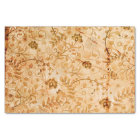 Flower pattern in soft colours tissue paper
