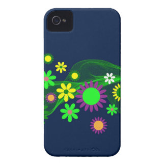 Flower Pattern iPhone 4 Case-Mate Case