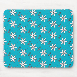 Flower Pattern Mouse Pad