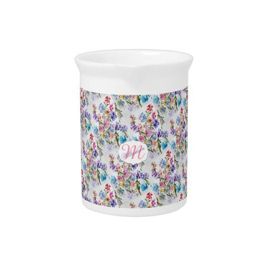 FLOWER PATTERN SO WHIMSICAL PITCHER