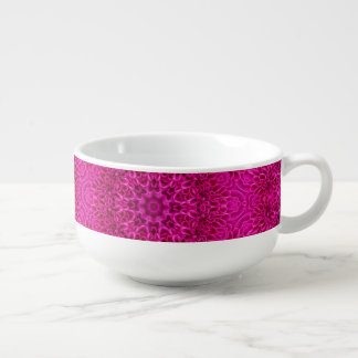 Flower Pattern  Soup Mug