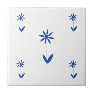 flower patterned array traditional tile design