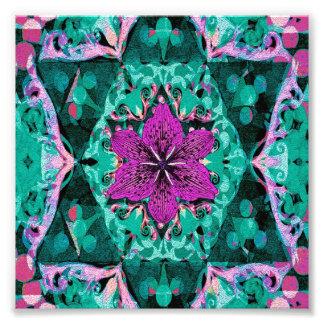 Flower Petal Mandala Design Photograph