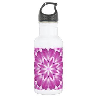Flower Petals Mandala 532 Ml Water Bottle