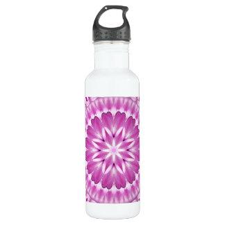 Flower Petals Mandala 710 Ml Water Bottle