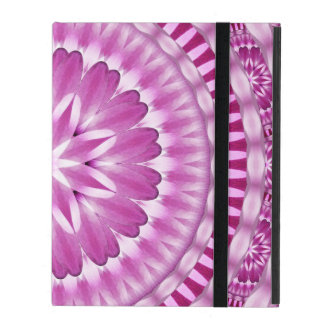 Flower Petals Mandala iPad Folio Case
