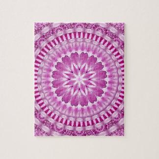 Flower Petals Mandala Jigsaw Puzzle