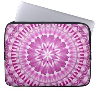 Flower Petals Mandala Laptop Sleeve
