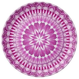 Flower Petals Mandala Plate