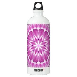 Flower Petals Mandala Water Bottle