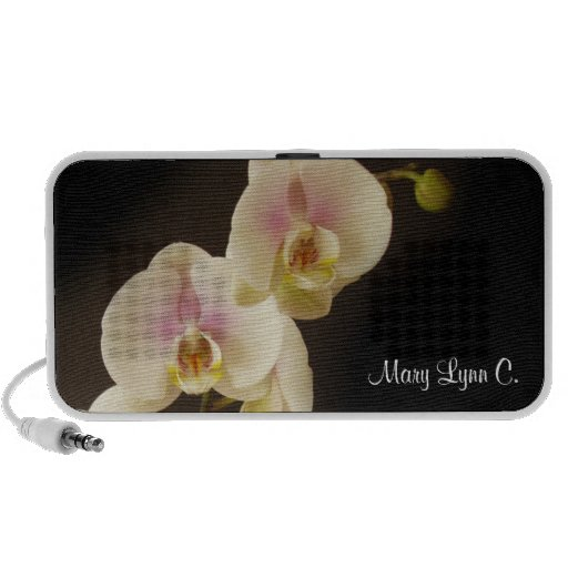Flower phalaenopsis orchid photography your name mp3 speaker