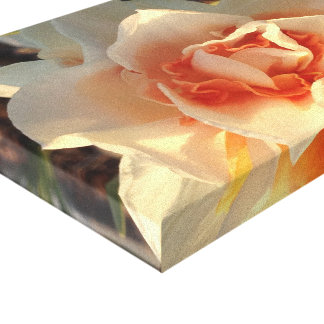 Flower photo canvas print