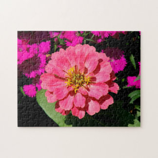 Flower, Photo Puzzle. Jigsaw Puzzle
