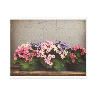 Flower picture canvas print