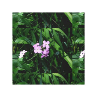 Flower picture canvas print