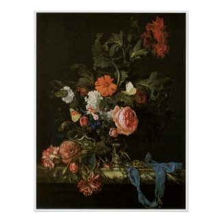 Flower Piece, 1663 Posters