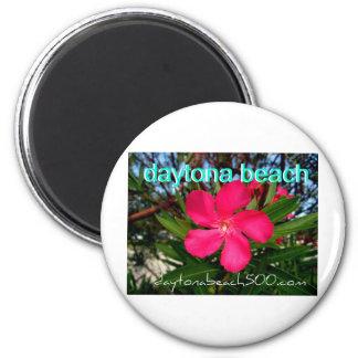 Flower pink magnet