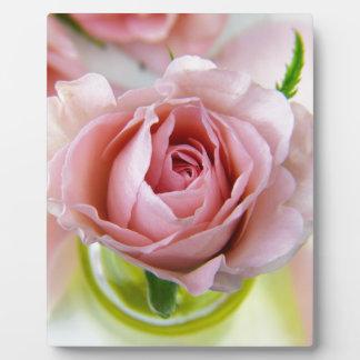 flower plaque