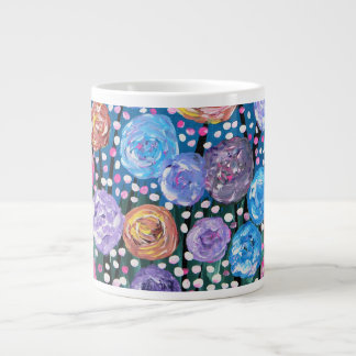 Flower Pop Large Coffee Mug
