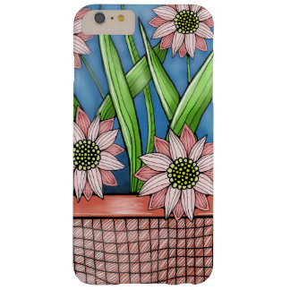Flower Pot Color Design Barely There iPhone 6 Plus Case