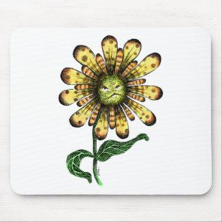 Flower Pouter Mouse Pad