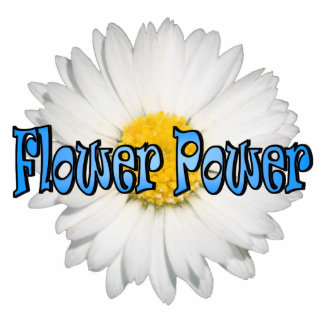 Flower Power 1 Magnet Photo Sculpture Ornament