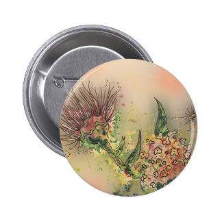Flower Power 2 Inch Round Button