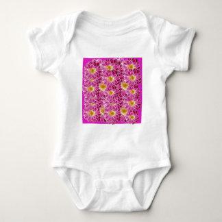 flower power baby bodysuit