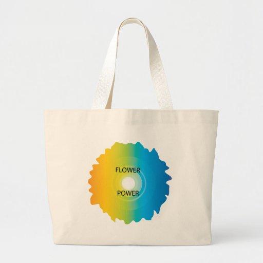 flower power tote bags