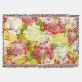 Flower Power Blossom Throw Blanket