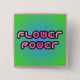 """Flower Power"" Button"