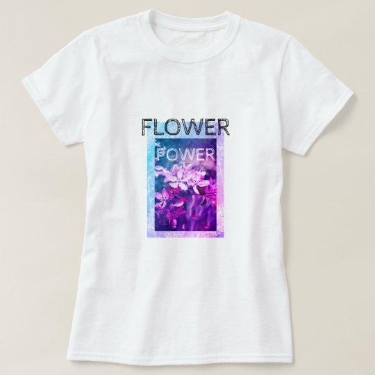 Flower Power customizable women's t-shirt