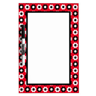 Flower Power Dry Erase Board