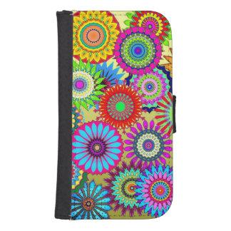 Flower Power Galaxy S4 Wallet Case