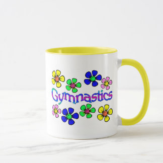 Flower Power Gymnastics  mug