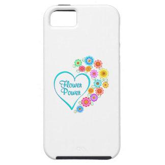 Flower Power Heart iPhone 5 Cases