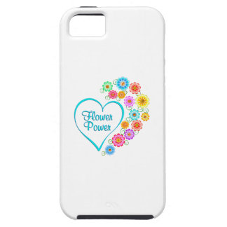 Flower Power Heart iPhone 5 Cover