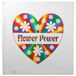 Flower Power Heart Napkin