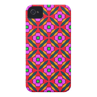Flower Power in Pink Design Case-Mate iPhone 4 Case