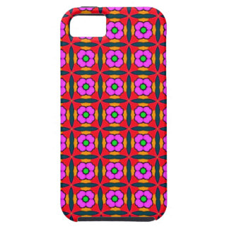 Flower Power in Pink Design iPhone 5 Cases