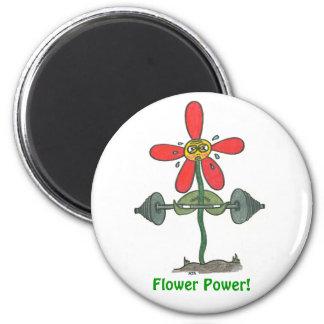 Flower Power! Fridge Magnet