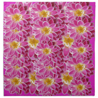 flower power napkin